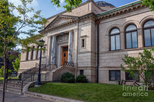 Photograph - Winona Library Summer Front II by Kari Yearous