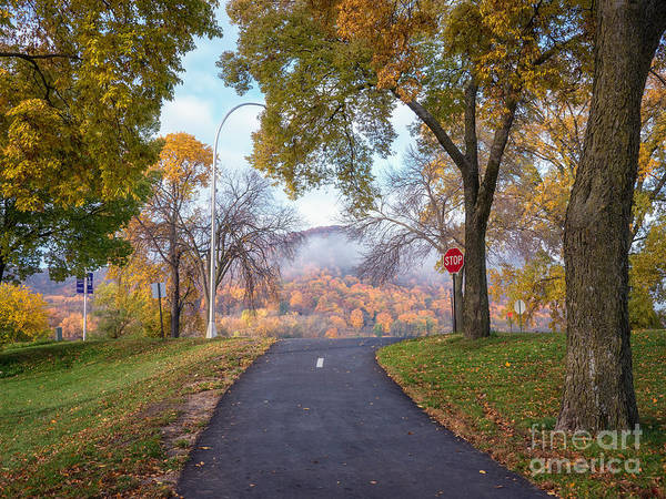Photograph - Winona Mn Photographer Autumn Rise by Kari Yearous