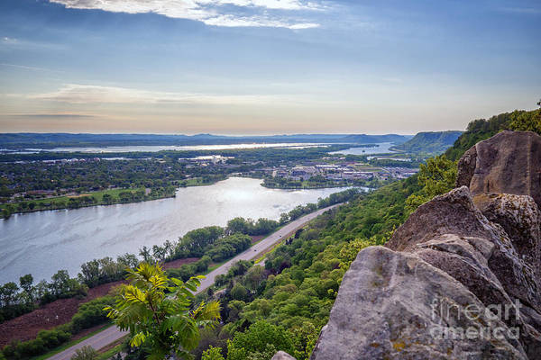 Photograph - Winona View From Garvin Heights by Kari Yearous
