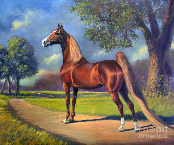 Wall Art - Painting - Winsdown Celebration by Jeanne Newton Schoborg