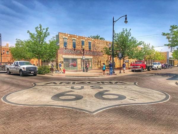 Photograph - Winslow Arizona by Sumoflam Photography