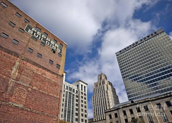 Photograph - Winston Salem Buildings by Patrick M Lynch