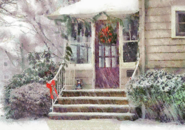 Photograph - Winter - Christmas - Silent Day  by Mike Savad