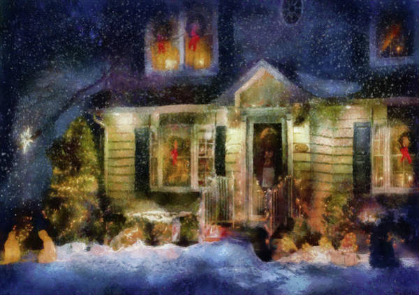 Photograph - Winter - Christmas - The Night Before Christmas  by Mike Savad