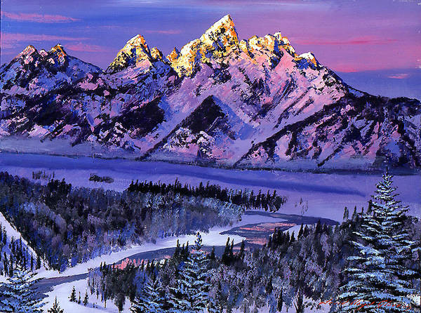 Painting - Winter Air by David Lloyd Glover