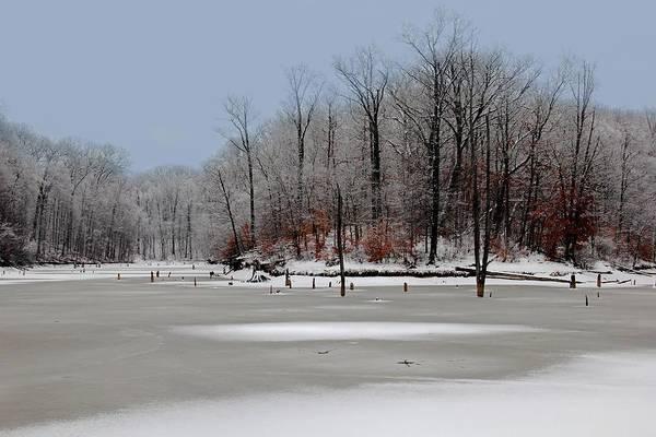 Photograph - Winter At Alum Creek by Angela Murdock