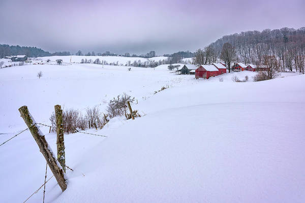 Photograph - Winter At Jenne Farm by Rick Berk