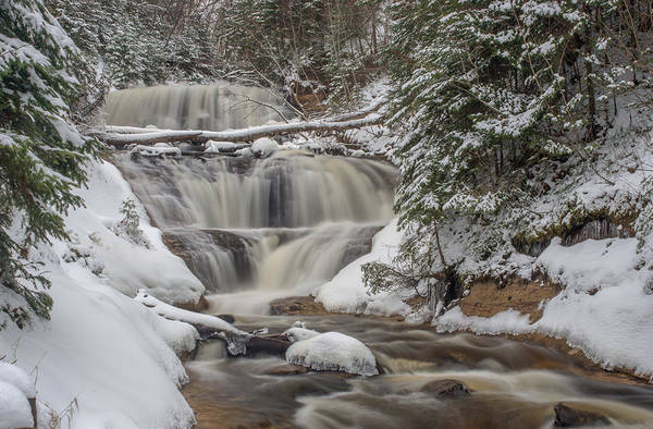 Photograph - Winter At Sable Falls by Gary McCormick