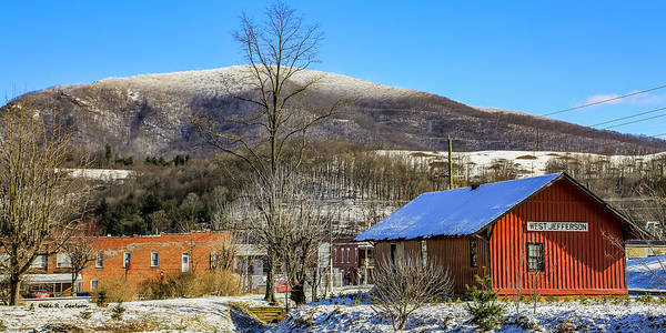 Photograph - Winter At The Depot by Dale R Carlson