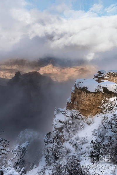 Wall Art - Photograph - Winter At The Grand  Canyon by Sandra Bronstein