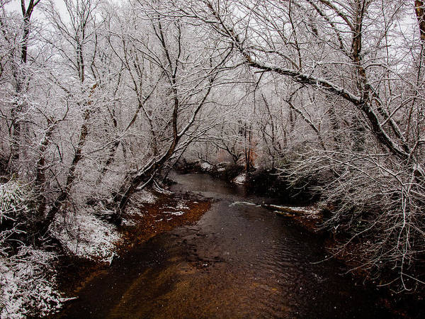 Photograph - Winter At The River by Randy Sylvia