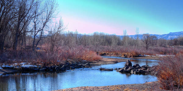 Photograph - Winter At The South Platte River by David Patterson