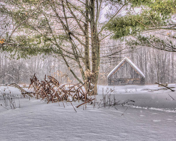 Photograph - Winter At The Woods by Rod Best