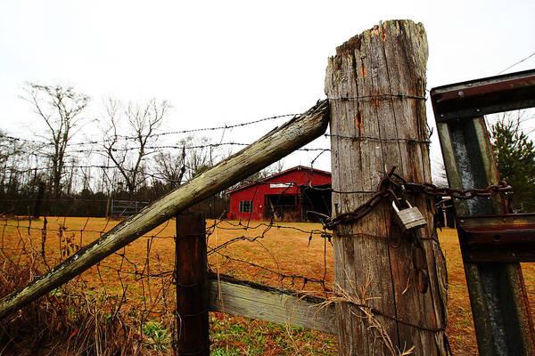 Wall Art - Photograph - Winter Barn 2 by Kevin Wheeler