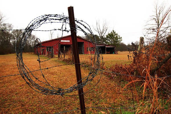 Wall Art - Photograph - Winter Barn 3 by Kevin Wheeler
