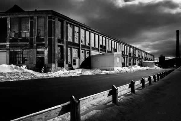 Photograph - Winter Bates Mill by Bob Orsillo