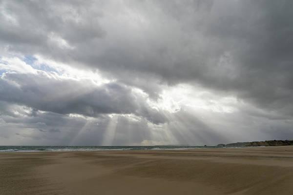 Photograph - Winter Beach Storm Gift by Georgia Mizuleva
