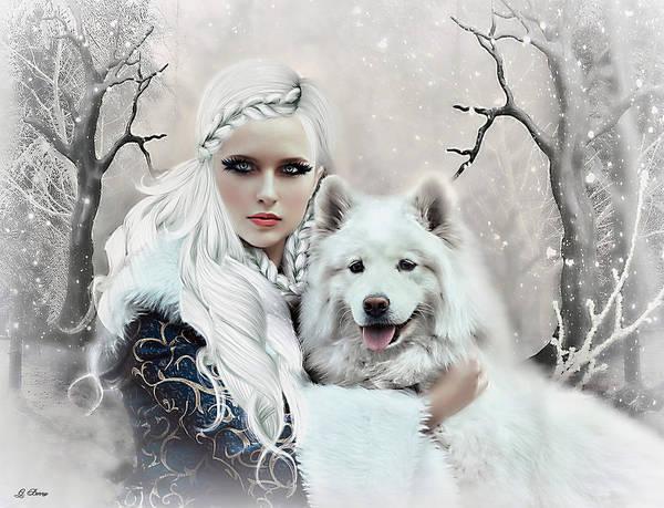 Season Mixed Media - Winter Beauty by G Berry