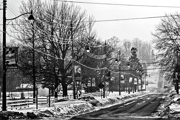 Photograph - Winter Beautiful - Black And White Photograph by Tatiana Travelways