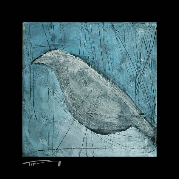 Painting - Winter Bird by Tim Nyberg