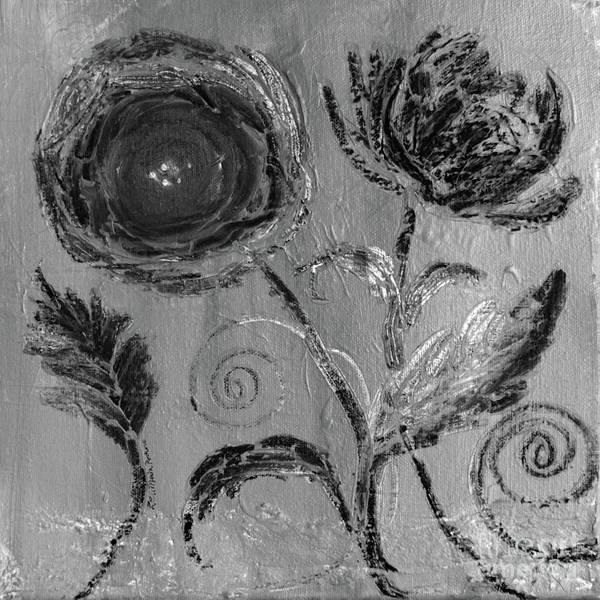 Digital Art - Winter Blooms IIi by Robin Maria Pedrero