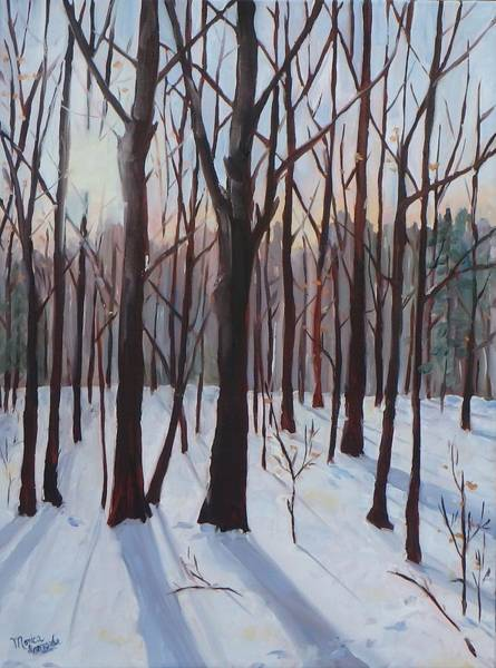 Painting - Winter Blues by Monica Ironside