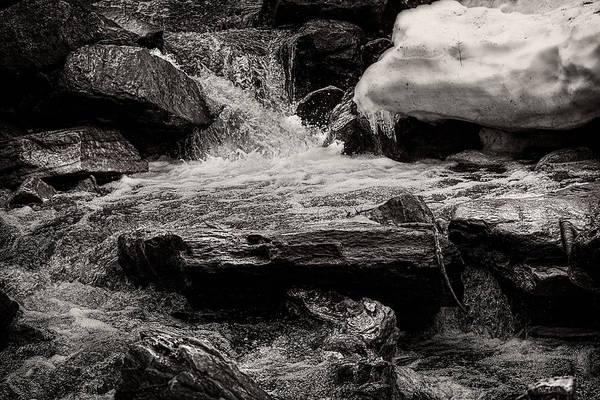 Photograph - Winter Brook by Bob Orsillo