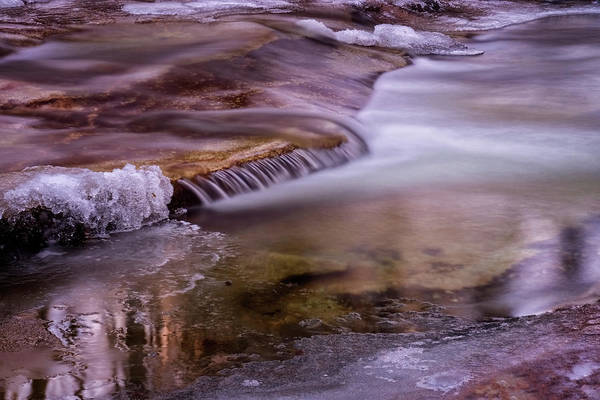 Photograph - Winter Brook by Tom Singleton