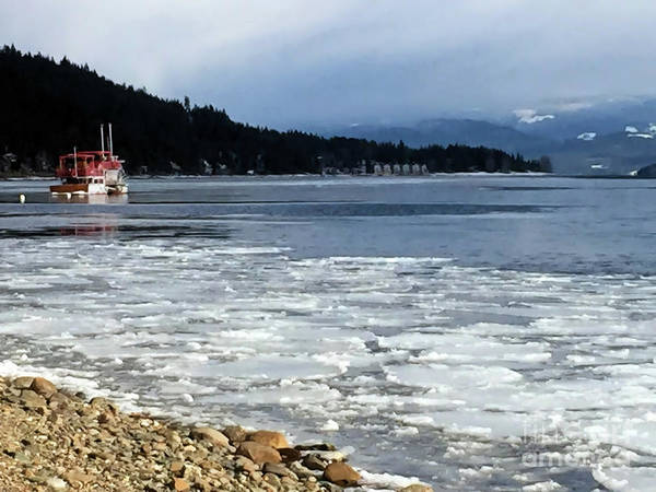 Photograph - Cottage Life In Winter by Victor K
