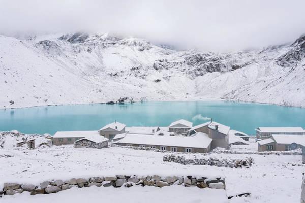 Gokyo Photograph - Winter Calm by Yuka Ogava