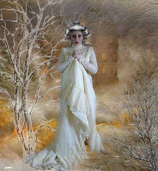 Shrub Mixed Media - Winter Chill 008 by G Berry