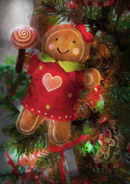 Photograph - Winter - Christmas - Little Miss Sunshine  by Mike Savad