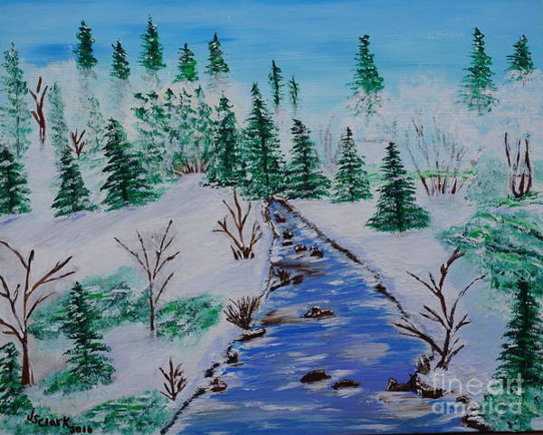 Painting - Winter Calmness by Jimmy Clark