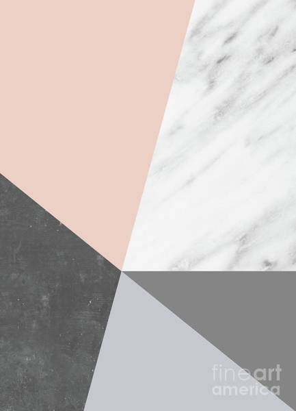 Winter Colors Collage Art Print