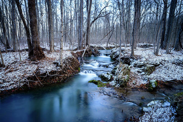Photograph - Winter Creek by Michael Scott