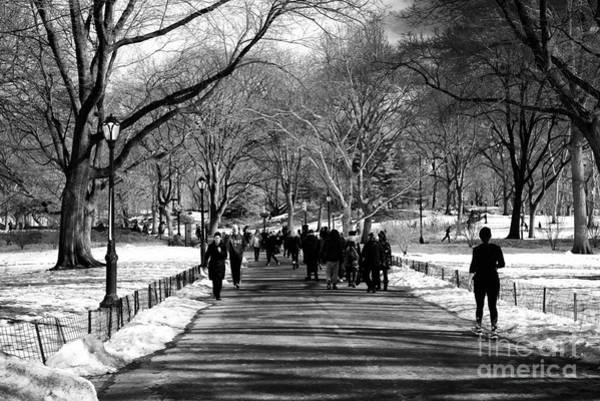 Photograph - Winter Crowds by John Rizzuto