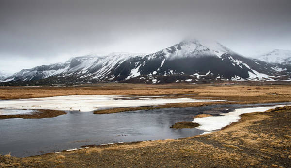 Icelandic Landscapes Wall Art - Photograph - Winter Dramatic Landscape In Iceland by Michalakis Ppalis