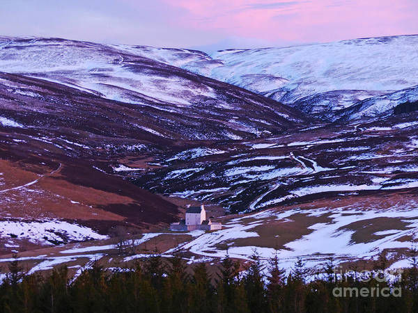 Photograph - Winter Dusk At Corgarff by Phil Banks