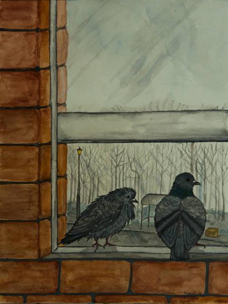 Painting - Winter by Elizabeth Mundaden