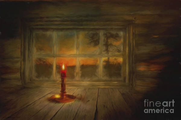 Natural Light Painting - Winter Evening by Veikko Suikkanen