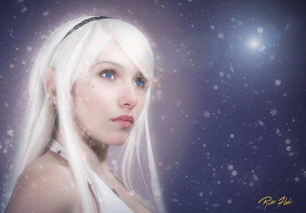 Photograph - Winter Fae by Rikk Flohr