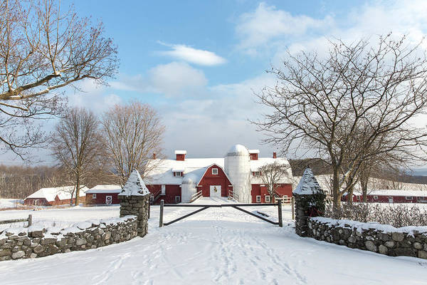 Photograph - Winter Farm by Sara Hudock