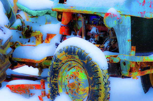 Photograph - Winter Farming by Stewart Helberg