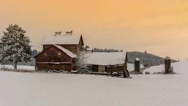 Wall Art - Photograph - Winter Farmland  by Lincoln Weaver