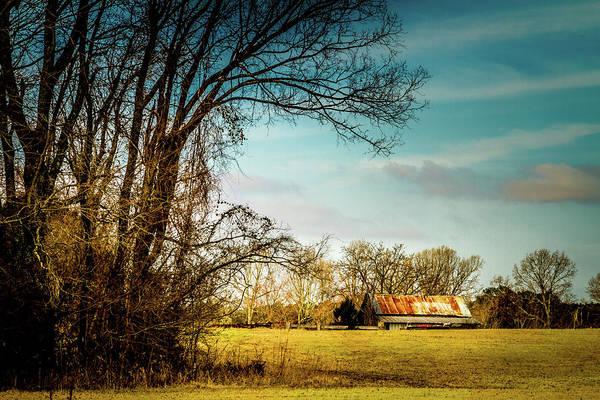 Photograph - Winter Fields by Barry Jones