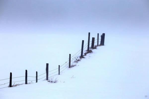 Photograph - Winter Fog by John Meader