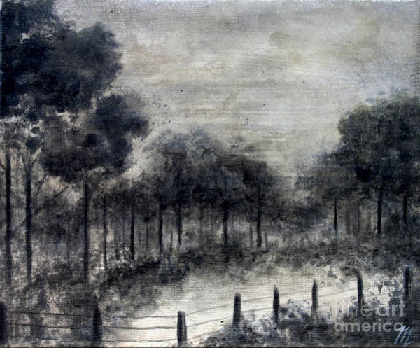 Painting - Winter Fog by Tim Musick