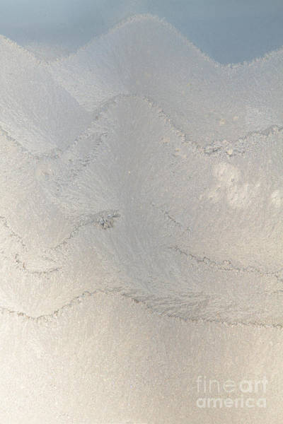 Fern Frost Photograph - Winter Frost Designs On House Window by Kenneth M. Highfill