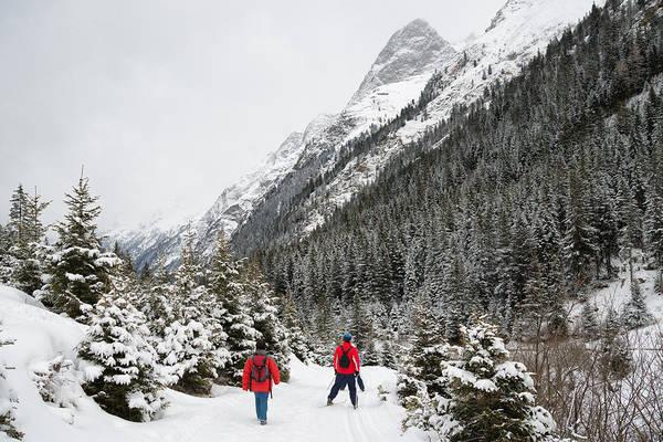 Photograph - Winter Fun In Pitztal Tyrol Austria by Matthias Hauser