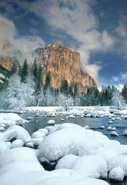 Photograph - Winter Gates Of The Valley Yosemite National Park California by Dave Welling